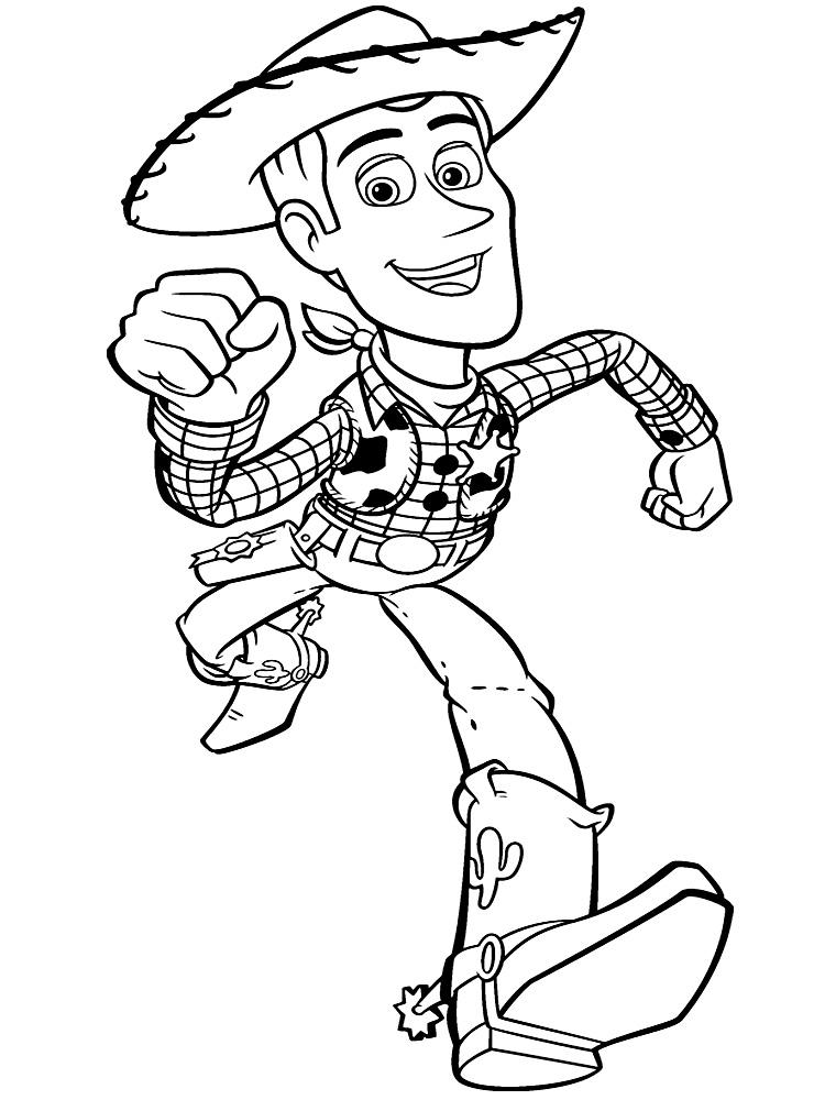 Dibujos Para Colorear Toy Story Para Un Desarrollo