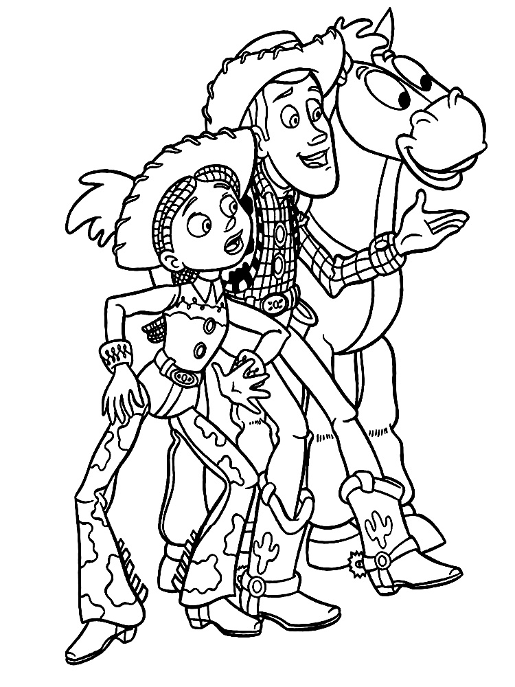 218 Tiles Dibujos Para Colorear Toy Story Para Chiquitines