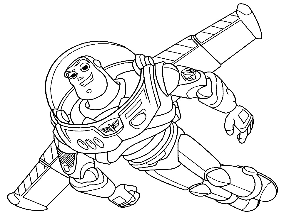 Toy Story 4 Dibujos Para Colorear