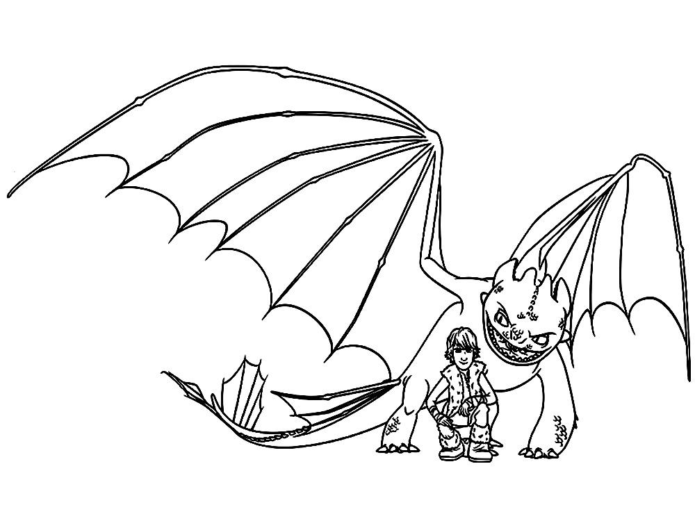 Dibujos infantiles para colorear – como entrenar a tu dragon, para ...