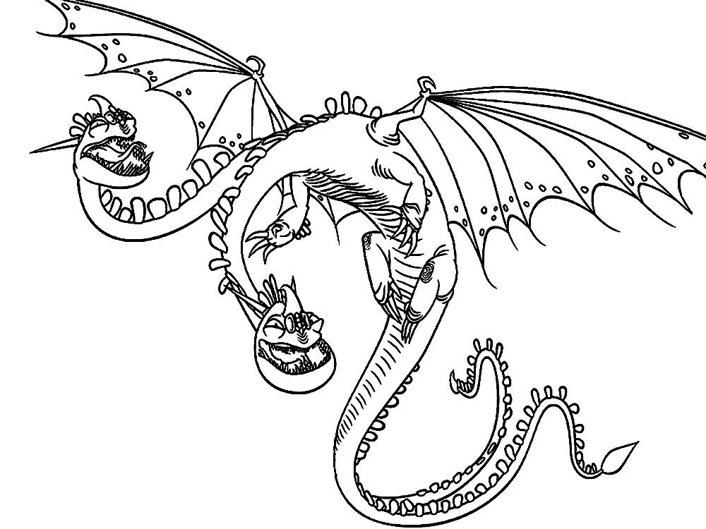 Imprimir gratis dibujos para colorear – como entrenar a tu dragon