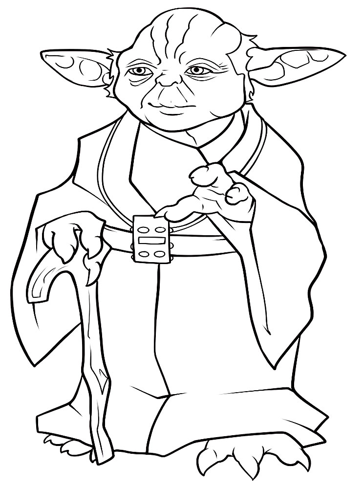 Imprimir gratis dibujos para colorear – Star Wars