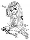 Monster High - dibujos animados infantiles, para colorear