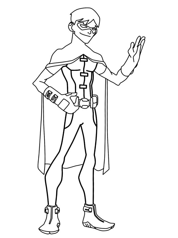 Descargar Gratis Dibujos Para Colorear Liga De La Justicia