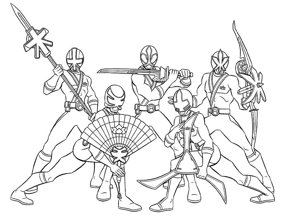 Power Rangers Para Colorear | www.imagenesmy.com