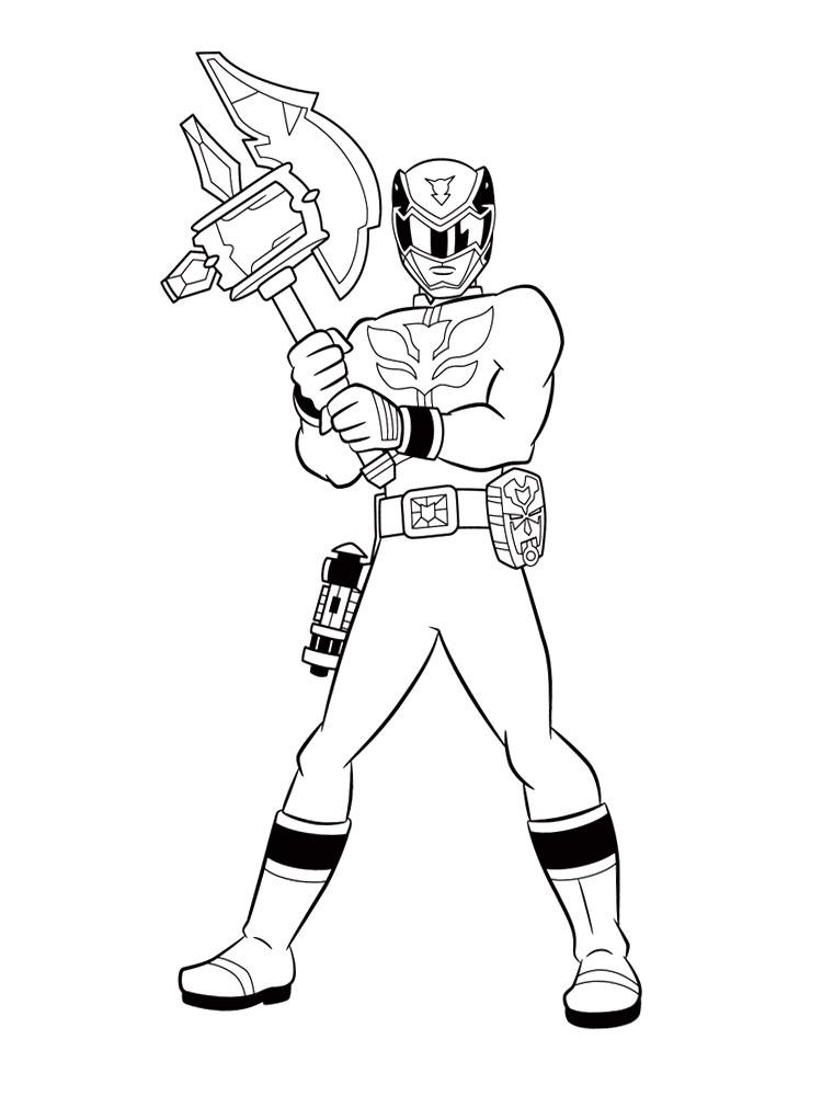 Descargar Gratis Dibujos Para Colorear Power Rangers