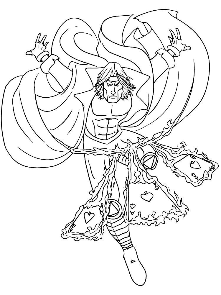 Descargar Gratis Dibujos Para Colorear X Men