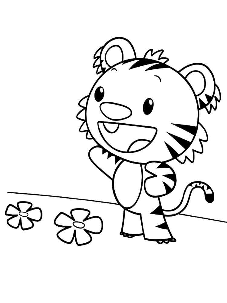 Ni Hao Kai-Lan – dibujos animados infantiles, para colorear
