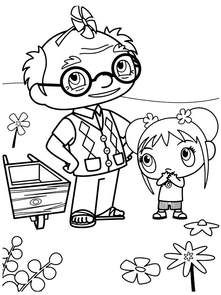 Dibujos para colorear – Ni Hao Kai-Lan, para un desarrollo infantil ...