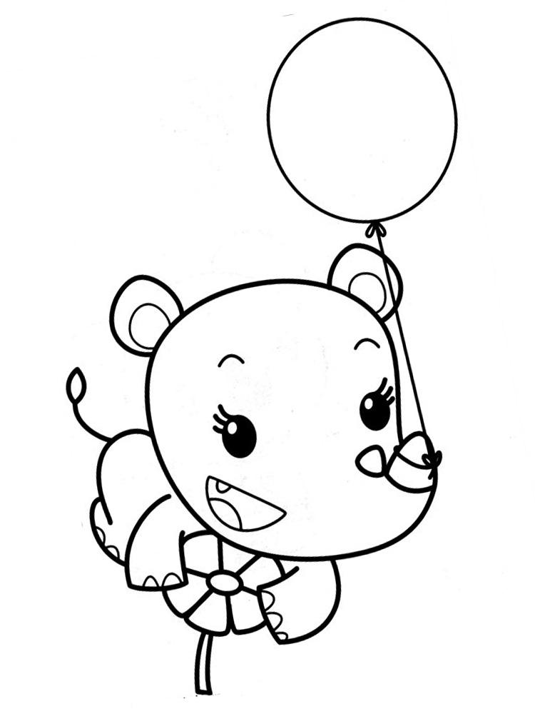 Dibujos infantiles para colorear – Ni Hao Kai-Lan, para desarrollar ...