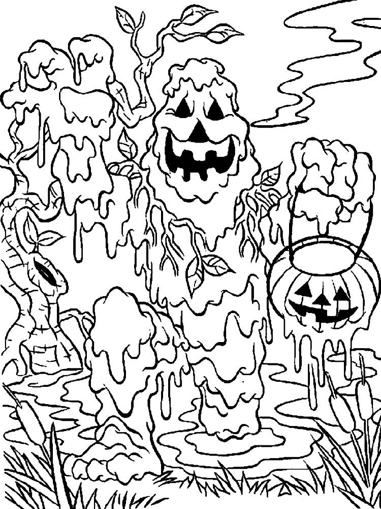 Dibujos para colorear – monstruos, para niños