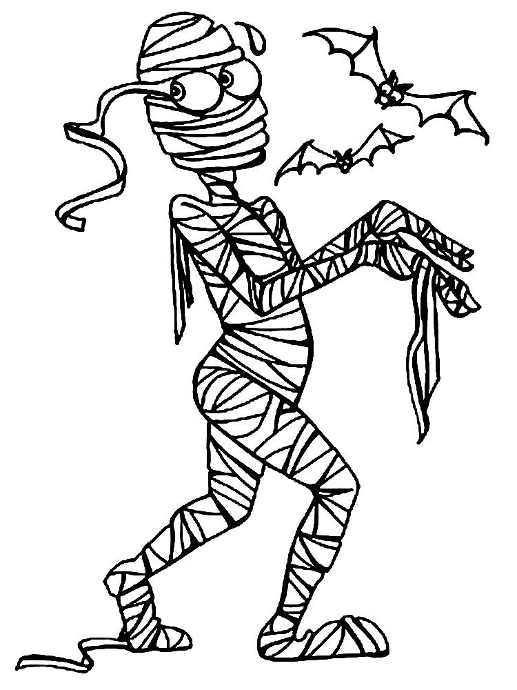 Dibujos para colorear – monstruos, para desarrollar la generación menor.