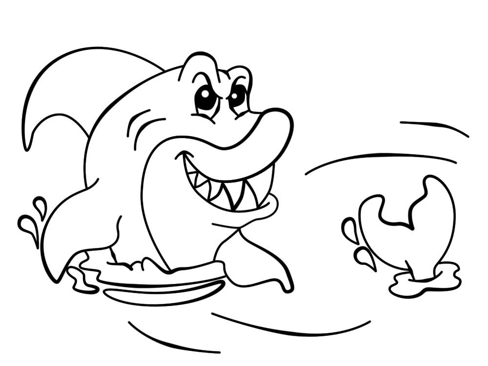 Vida marina – dibujos infantiles para colorear