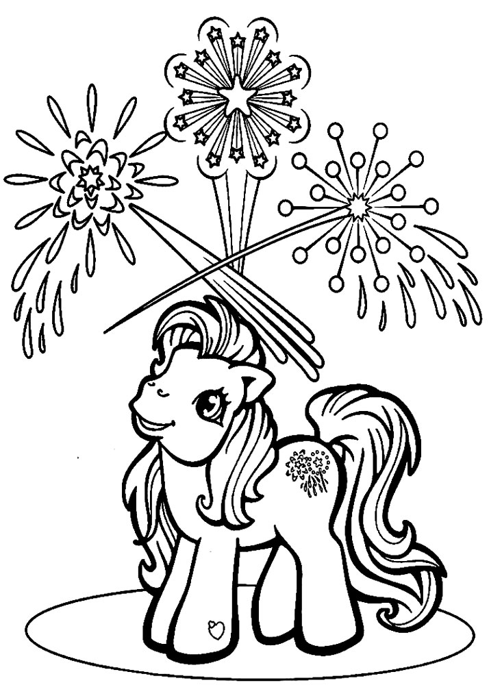 coloring pages for 8 year old boy | Descargamos dibujos para colorear – My Little Pony.