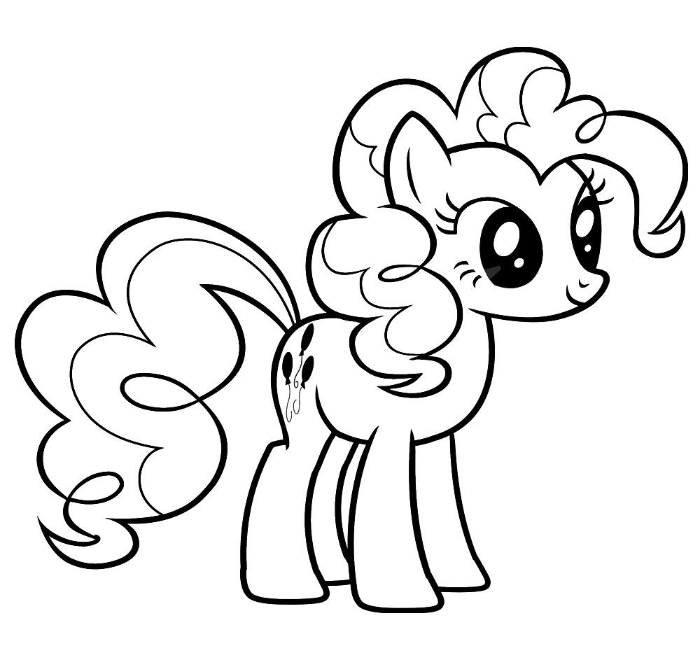 Imprimir dibujos para colorear – My Little Pony, para niños y niñas