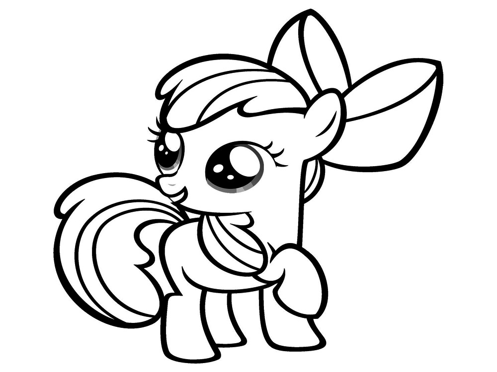Dibujos Para Colorear Ponis Bebes: Dibujos De Caballos De My Little Pony Pictures To Pin On