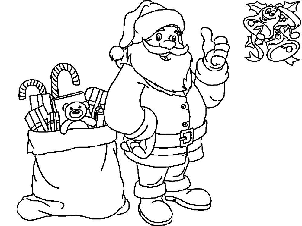 Imprimir imágenes dibujos para colorear – Navidad, para niños y niñas