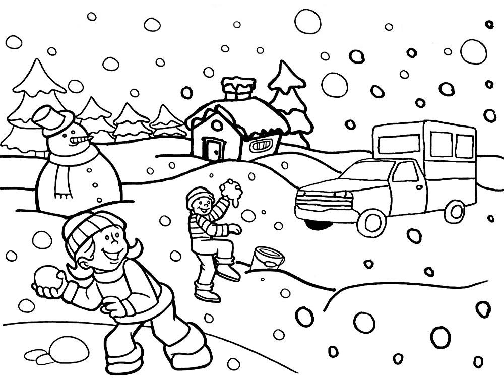 Dibujos para colorear – Navidad, para niños