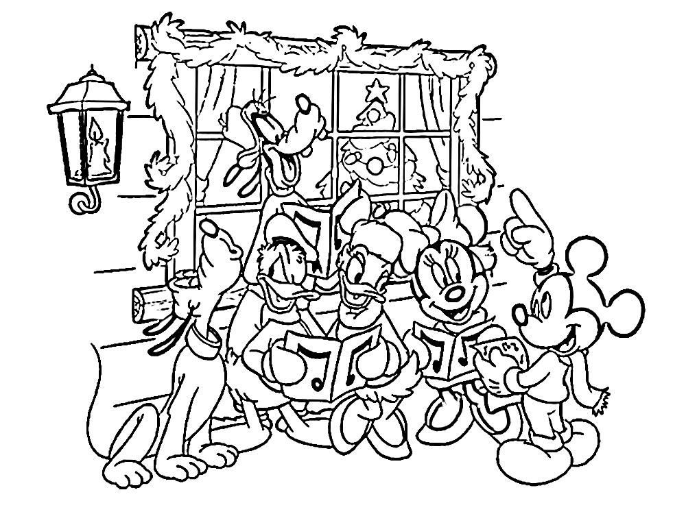 Algo útil para niñas y niños – dibujos para colorear – Navidad