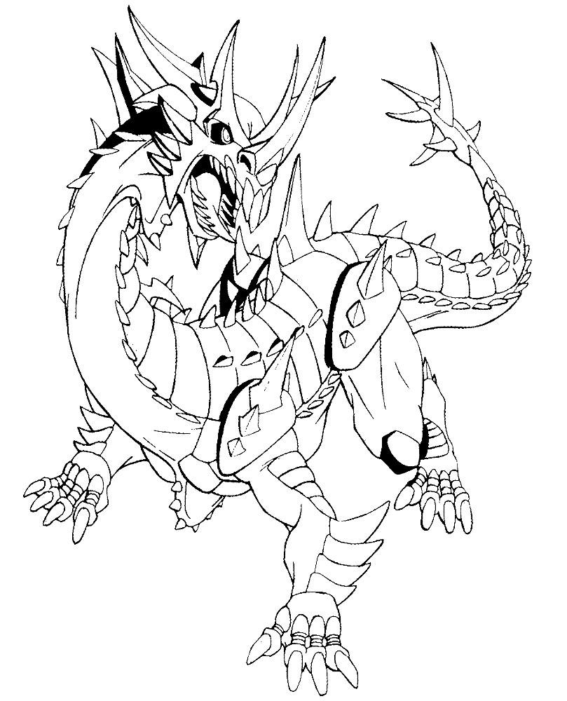 Bakugan – descargar gratis dibujos para colorear.