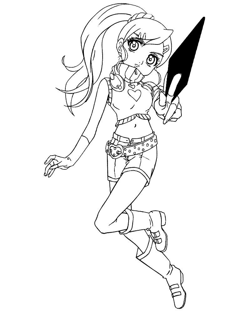 Imprimir dibujos para colorear – Bakugan, para niños y niñas