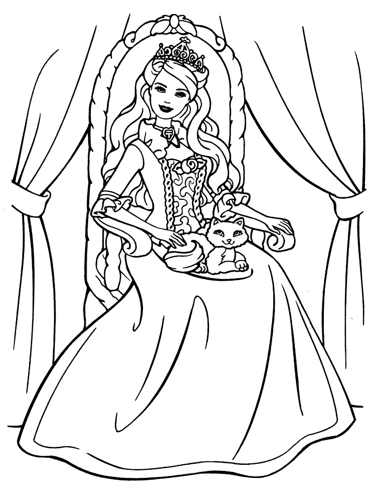 Barbie – dibujos para colorear e imágenes.