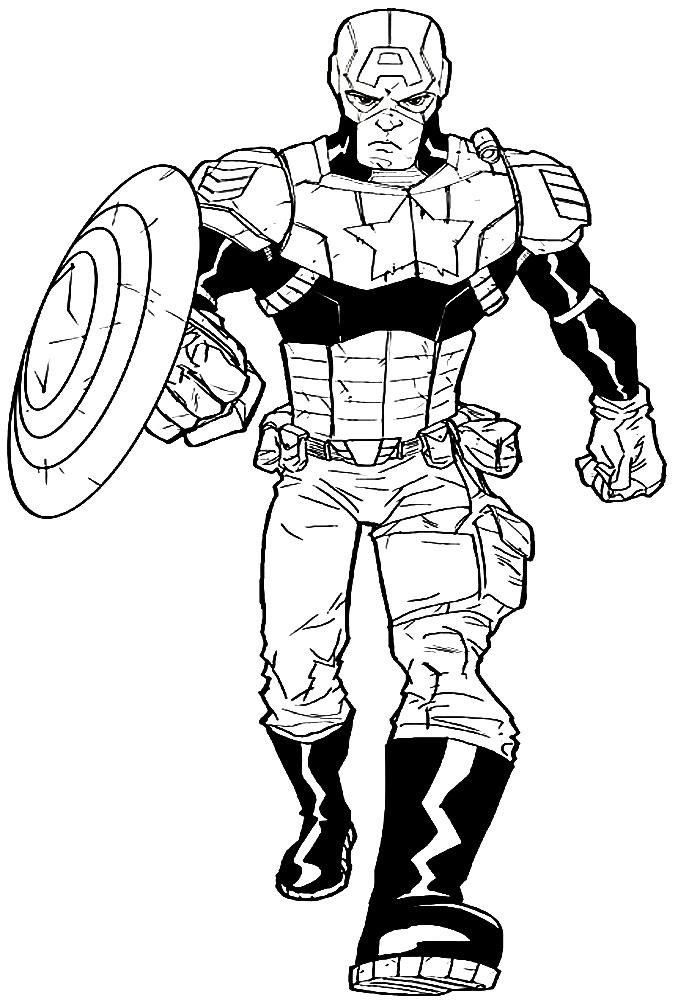 Descargar Dibujos Para Colorear Superhéroes