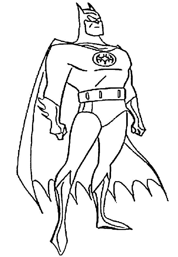 dibujos para colorear online superheroes