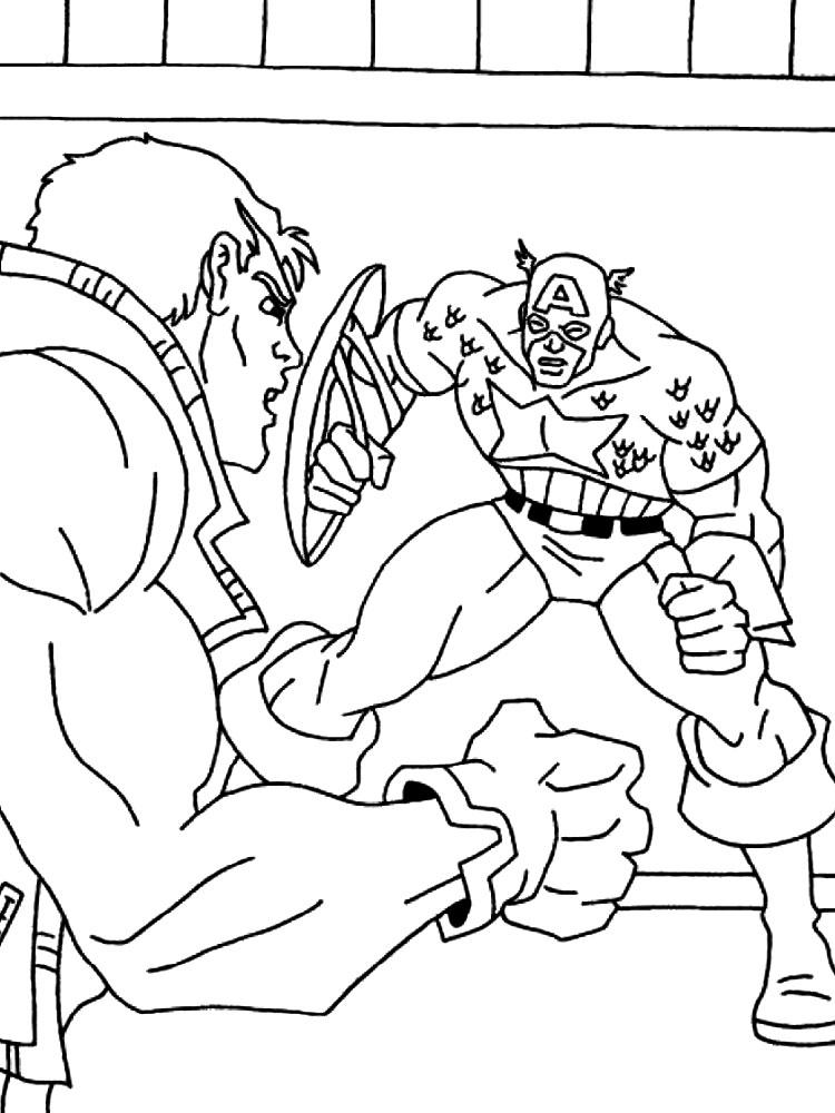 Gratuitos Dibujos Para Colorear Superhéroes Descargar E