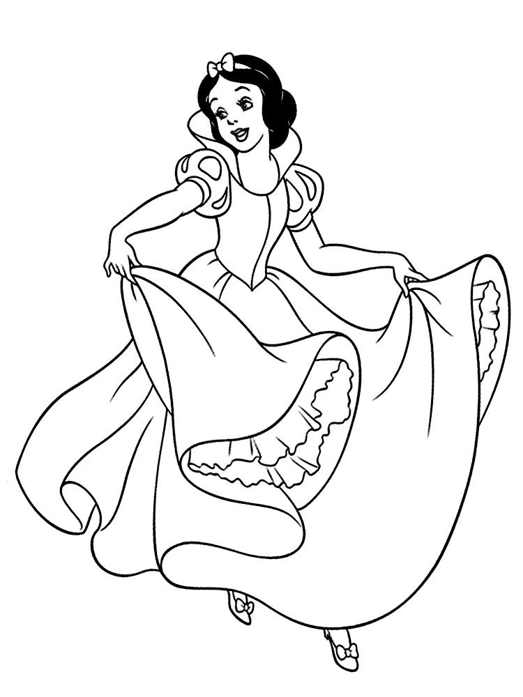 Blancanieves – dibujos infantiles para colorear, para ...