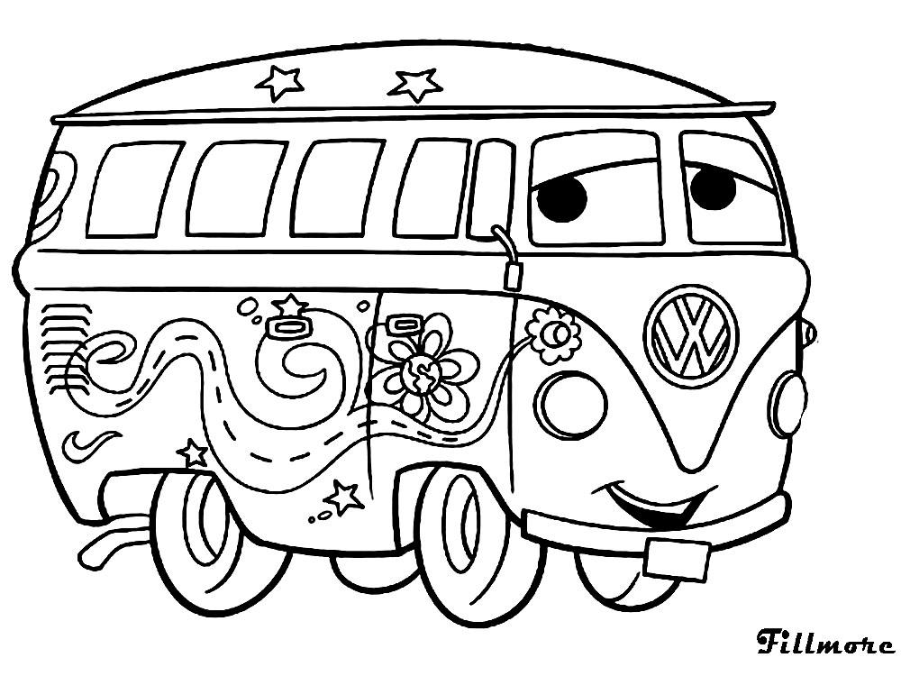 Gratuitos dibujos para colorear – Cars, descargar e imprimir