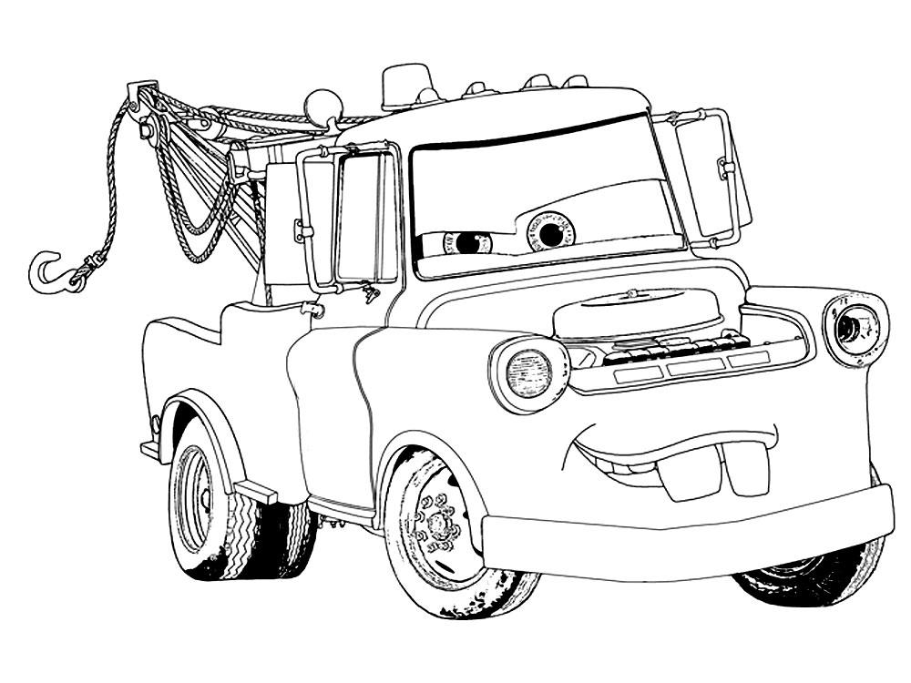 Cars – dibujos para colorear e imágenes.