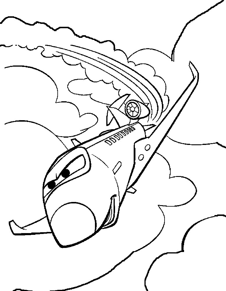 Cars 2  dibujos infantiles para colorear