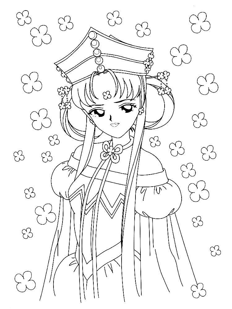 Dibujos Animados Para Colorear Sailor Moon Para Niños