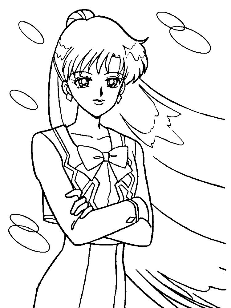 Imprimir Dibujos Para Colorear Sailor Moon Para Niños Y Niñas