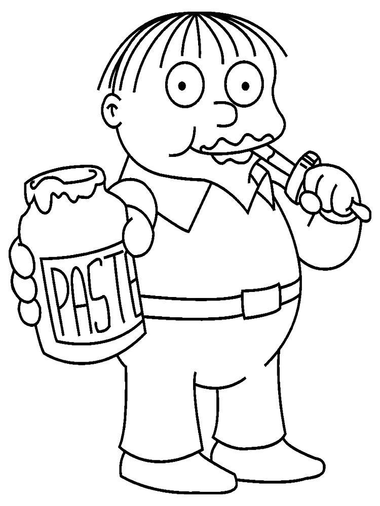 Descargue E Imprima Gratis Dibujos Para Colorear Los Simpson