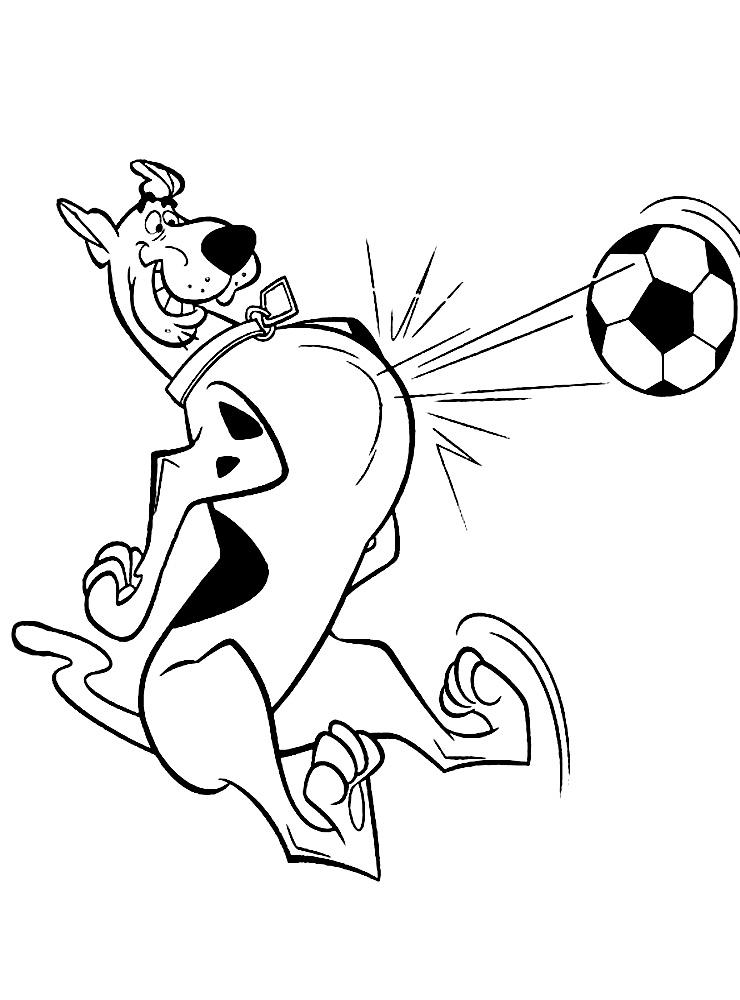 Descargue e imprima gratis dibujos para colorear – Scooby-Doo