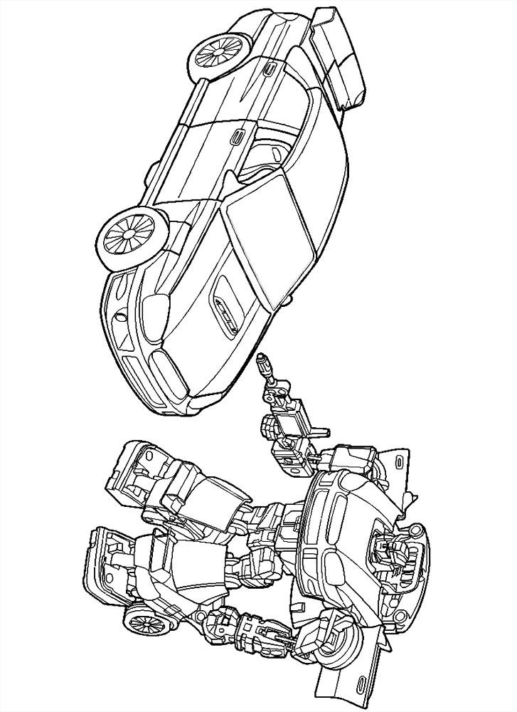 Imprimir imágenes dibujos para colorear – Transformers ...