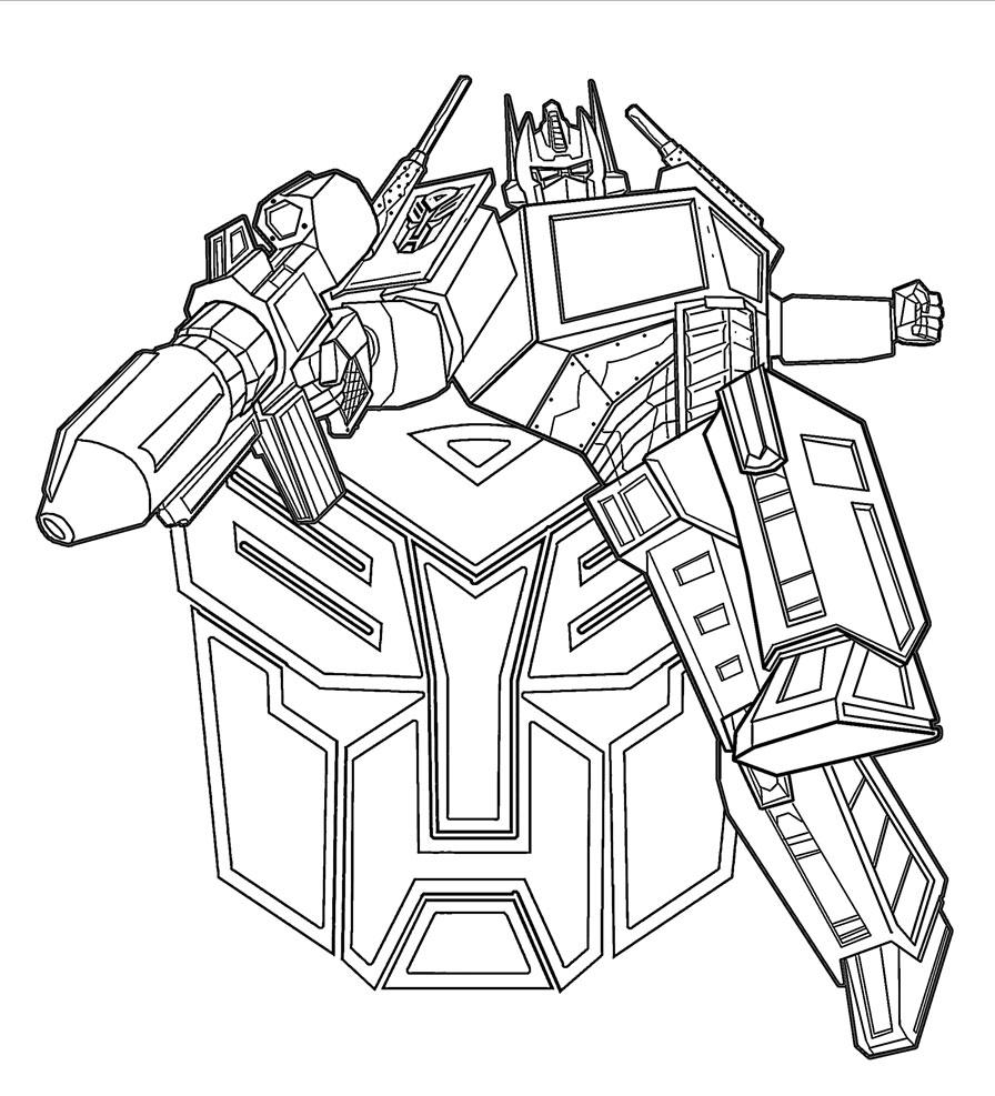 Gratuitos dibujos para colorear – Transformers Prime, descargar e ...
