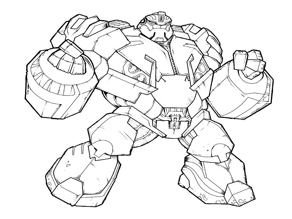 Transformers Prime – dibujos infantiles para colorear