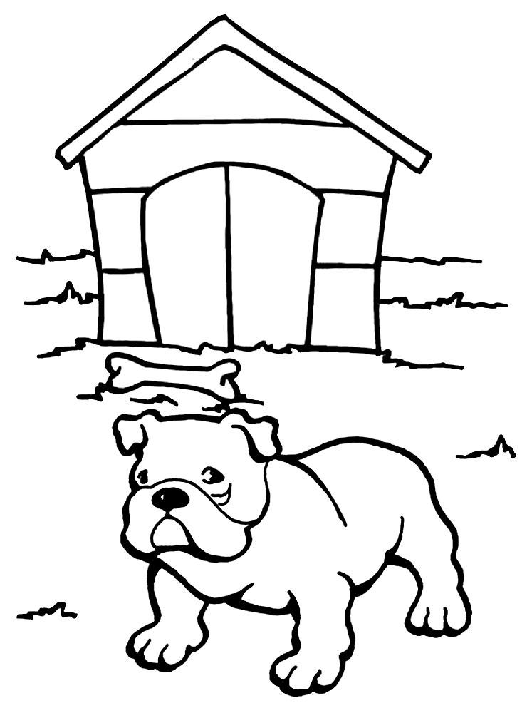 Imprimir Imágenes Dibujos Para Colorear Perros Para Niños