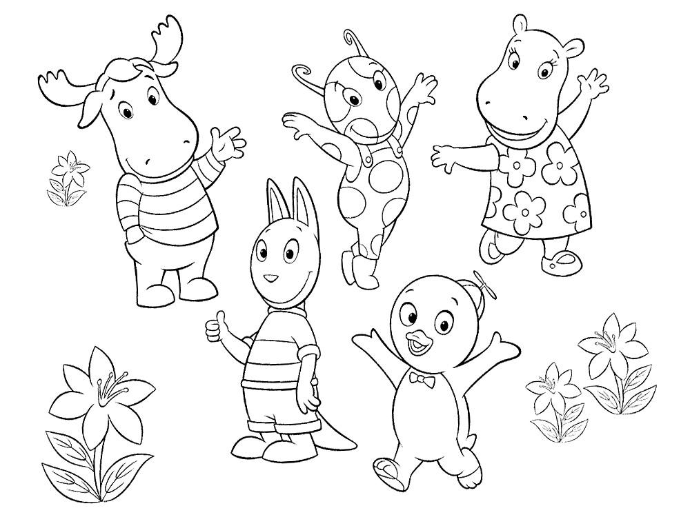 Tus amiguitos del jard n descargar gratis dibujos para for Amiguitos del jardin