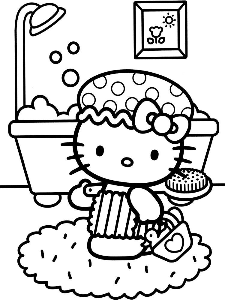 Descargar Gratis Dibujos Para Colorear Hello Kitty