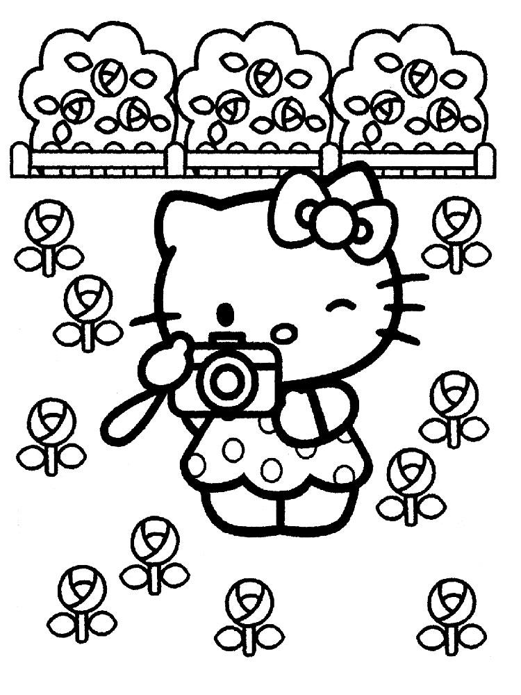 Gratuitos Dibujos Para Colorear Hello Kitty Descargar E Imprimir