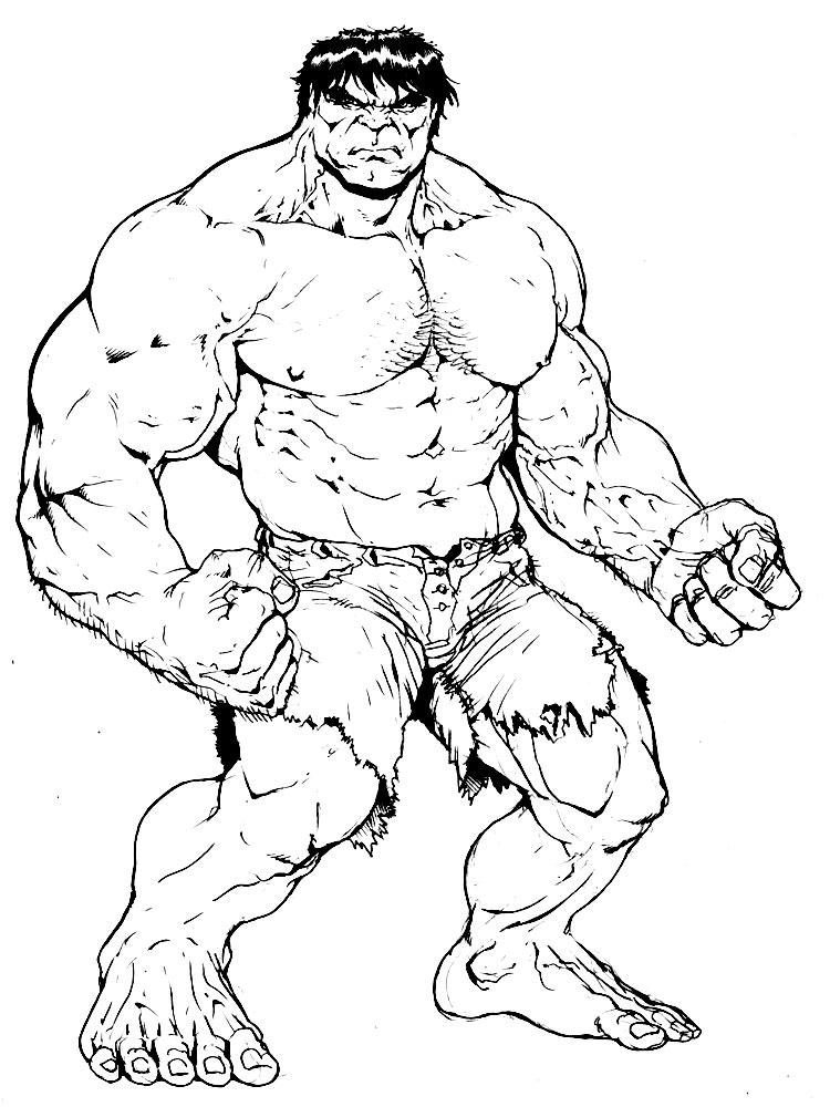 Hulk – dibujos para colorear e imágenes.