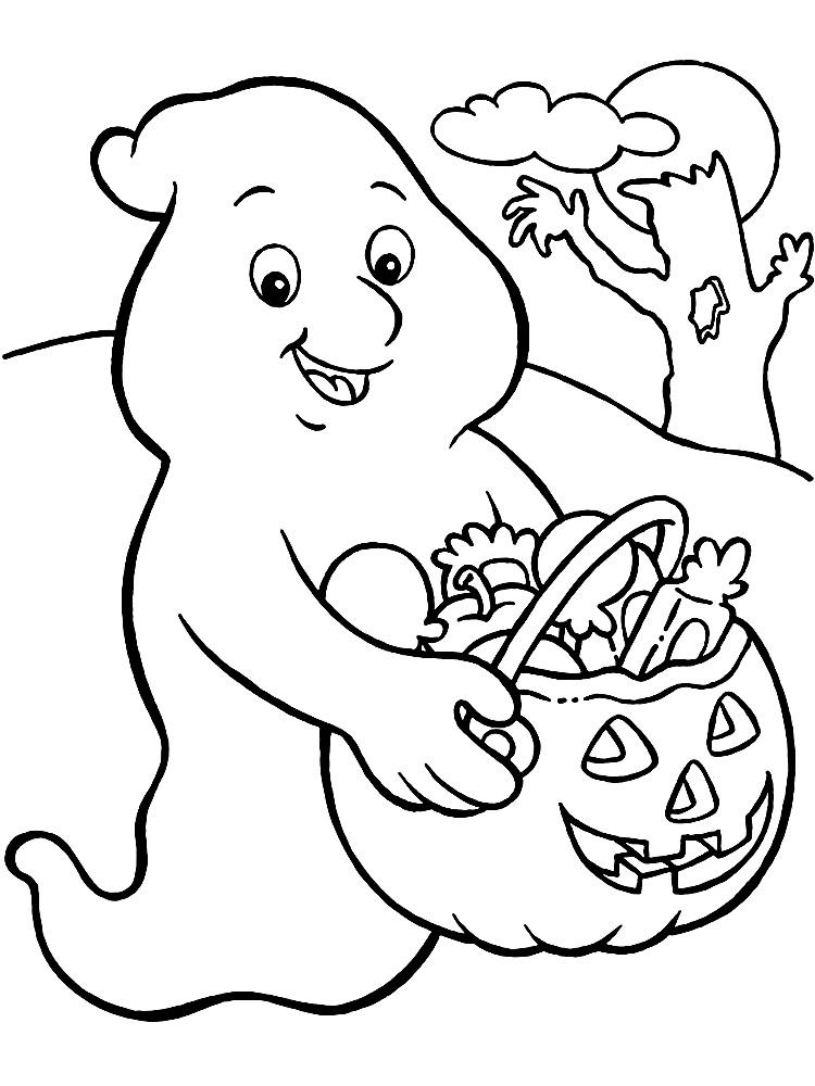 Imprimir dibujos para colorear – Halloween, para niños y niñas