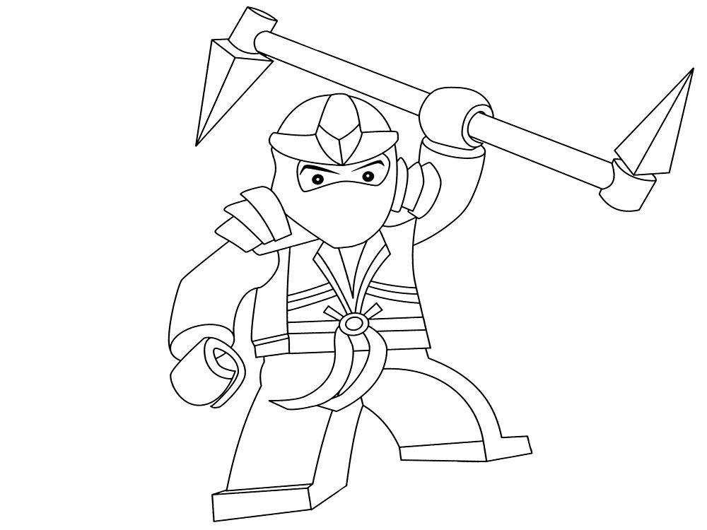 Dibujos Para Colorear De LEGO Ninjago