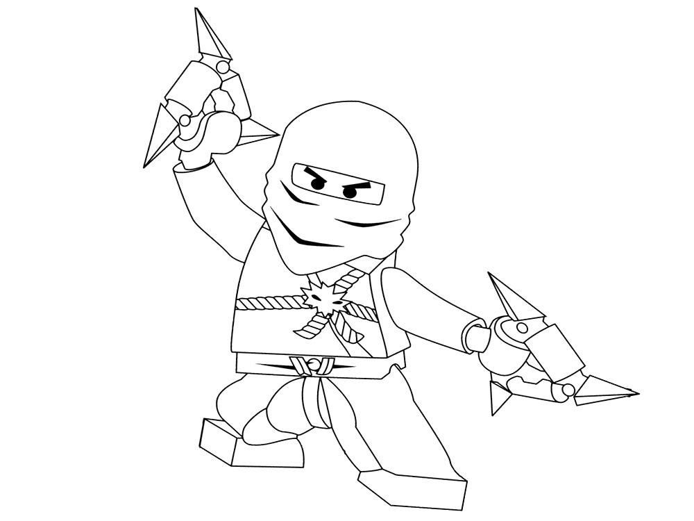 Imprimir imágenes dibujos para colorear – Lego Ninjago, para niños y ...