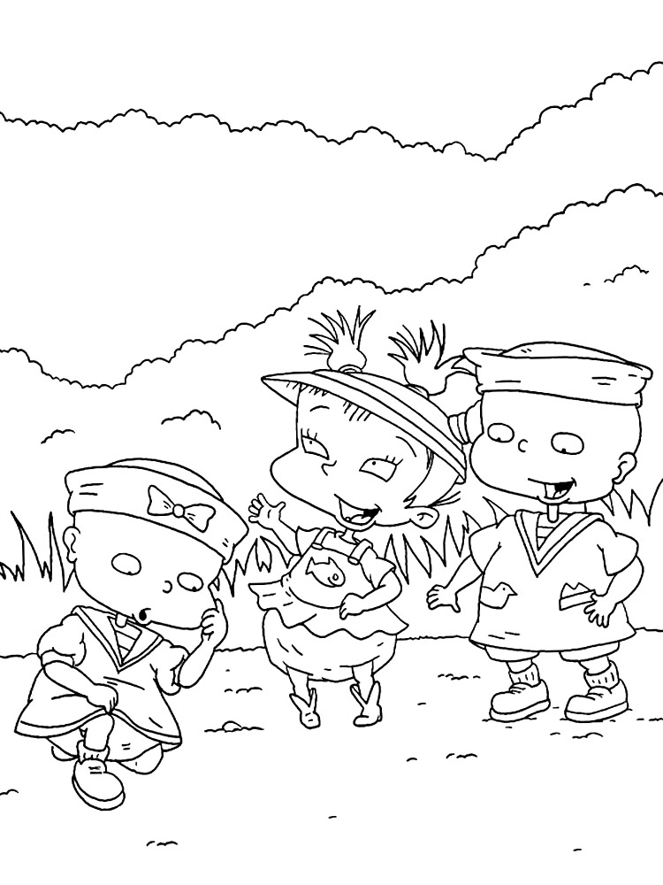 Free coloring pages of rugrats - a-k-b.info