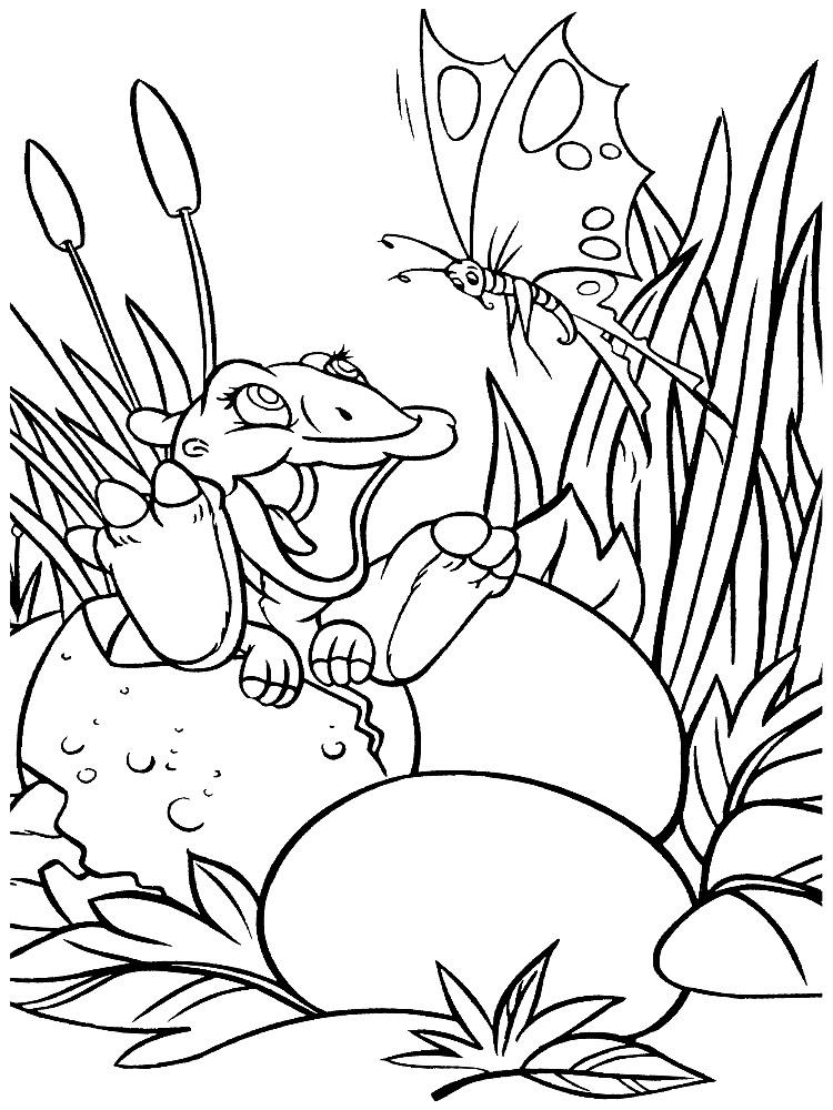 Tierra antes del tiempo – dibujos infantiles para colorear, para ...